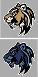 Panther Cougar Mascot Vector Logo Royalty Free Stock Photos