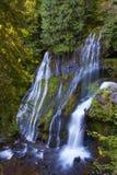 Panther Creek Falls in Skamania County, Washington State stock images