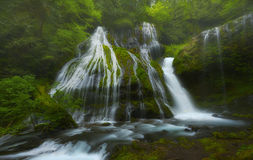Panther Creek Falls, WA Royalty Free Stock Photo