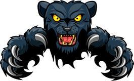 Panther, der durch zerreißt Stockfotografie