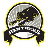 Panther große Cat Growling Stockbilder