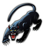 Panther mascot Stock Photography