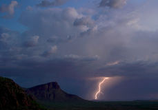 Panther Peak Lightning Stock Photos