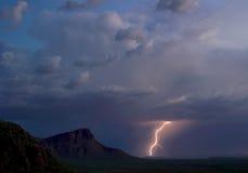 Panther Peak Lightning Stock Photos