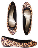 Panther shoes for girls Royalty Free Stock Image