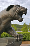 Panther Statue. Detail Royalty Free Stock Images