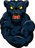 Panther strong mascot Royalty Free Stock Photography
