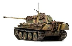 Panther tank royalty free stock photography