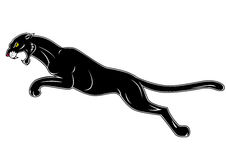 Panther tattoo Stock Photo
