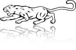 Panther tattoo Royalty Free Stock Images