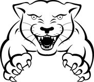 Panther tattoo vector illustration