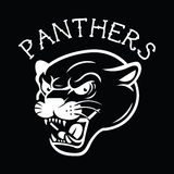 Panther Tattoo Mascot Stock Photography