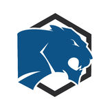 Panther or Tiger  logo. Stock Images