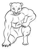 Panther verärgert Lizenzfreie Stockfotografie