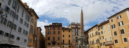 Panthéon Rome de l'Italie Photos libres de droits