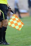 Panthrakikos against Panathinaikos football match Royalty Free Stock Photo