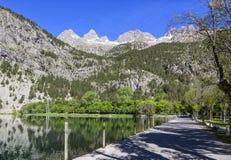 Panticosa pyrenees Huesca, Aragon, Spanje Royalty-vrije Stock Afbeelding