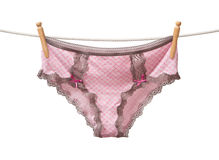 Panties on a Clothesline Royalty Free Stock Photography
