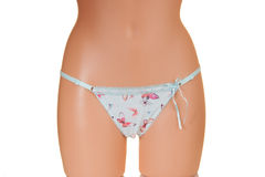 Panties on a mannequin Royalty Free Stock Images