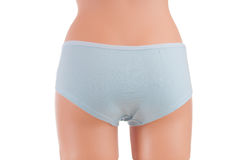 Panties on a mannequin Stock Photo