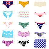 Panties set Stock Photos