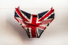Panties on a string Royalty Free Stock Photo