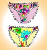 Panties. vector illustration Stock Photo
