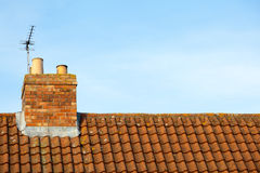 Pantile Roof Stock Photo