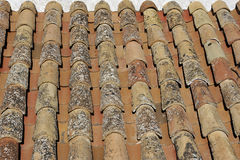Pantiled Roof Royalty Free Stock Photo