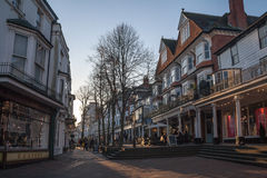 The Pantiles, Tunbridge Wells Royalty Free Stock Photo