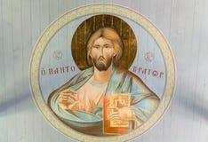 pantocrator Χριστού Στοκ Φωτογραφίες