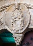 Pantocrator del Romanesque en la catedral de Lugo Imagen de archivo libre de regalías