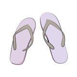 pantoffel Royalty-vrije Stock Foto