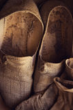 Pantoffel mit Handschuhen Stockbild