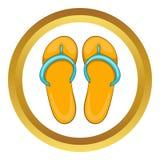 Pantoffelspictogram royalty-vrije illustratie