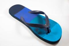 Pantofola della spiaggia fotografie stock