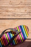 Pantofola di colore Immagini Stock