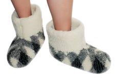 Pantofole calde Immagine Stock Libera da Diritti