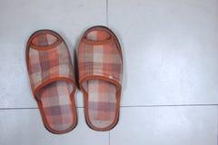 Pantofole della Camera Immagine Stock Libera da Diritti