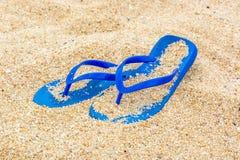 Pantofole della spiaggia Fotografia Stock Libera da Diritti