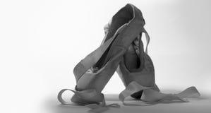 Pantofole 1 di balletto Fotografia Stock