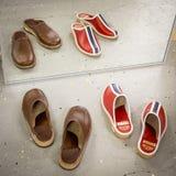 Pantofole svedesi classiche fotografie stock libere da diritti