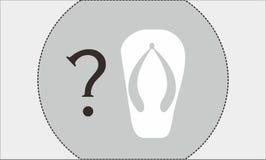 Pantofole una fotografia stock libera da diritti