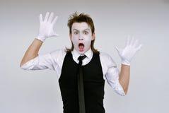 Pantomime Photos libres de droits