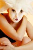 Pantomime de Goth Image stock