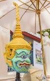 Pantomime von Thailand Lizenzfreies Stockfoto