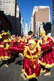 Pantomimenspieler-Parade 2015 stockfotografie
