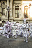 Pantomimenspieler-Parade 2015 stockbild