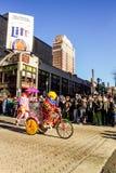 Pantomimenspieler-Parade 2015 stockfotos