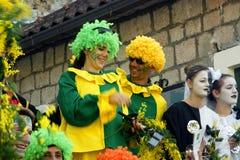 Pantomimes et clowns Photos libres de droits